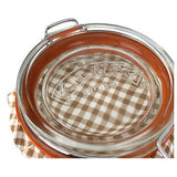 Retro Label Glass Kilner Jar