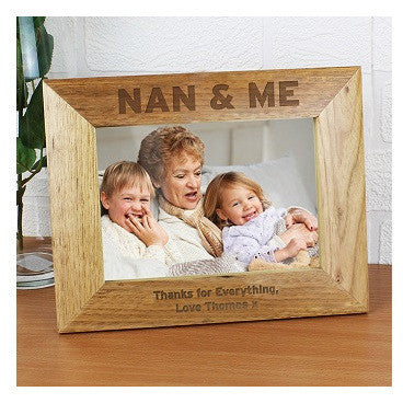 Nan & Me 5 x 7 Wooden Photo Frame