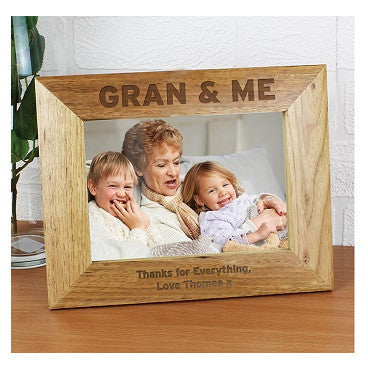 Gran & Me 5 x 7 Wooden Photo Frame