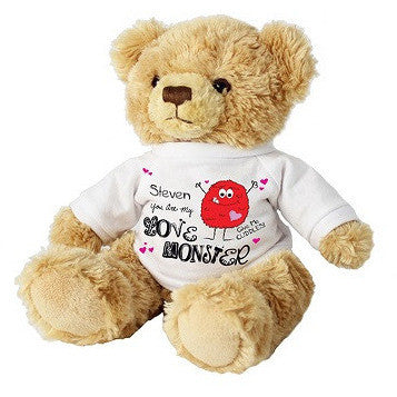 Love Monster Message Bear