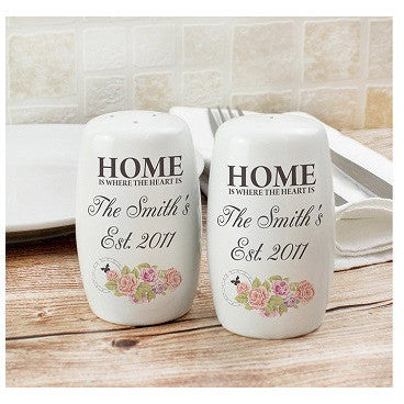 Shabby Chic Salt and Pepper Set