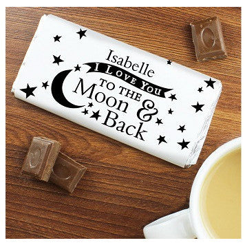 To the Moon and Back... Chocolate Bar