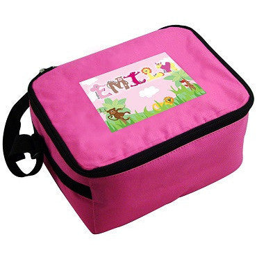 Girls Animal Alphabet Lunch Bag