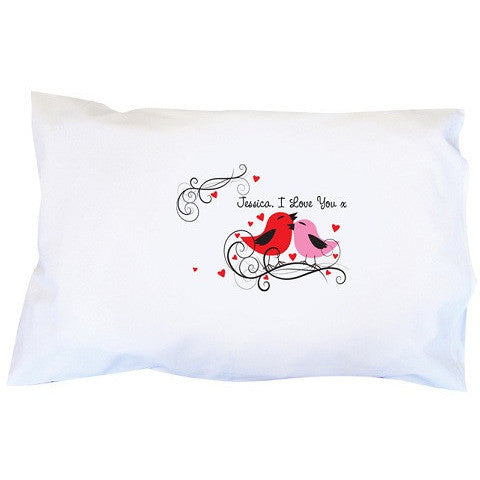 Love Birds Pillowcase