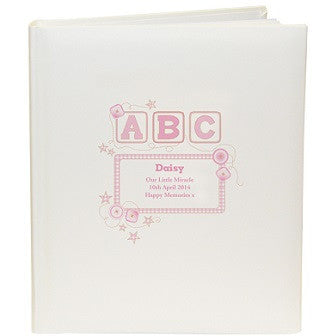 Pink ABC Traditional Photo Album