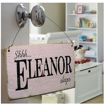 Personalised Vintage Style Nursery Sign