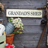 Personalised Vintage Style Wooden Sign