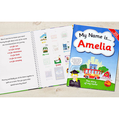 My Name is... Personalised Book