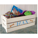"Small Dog Toy Box ""Any Colour"""