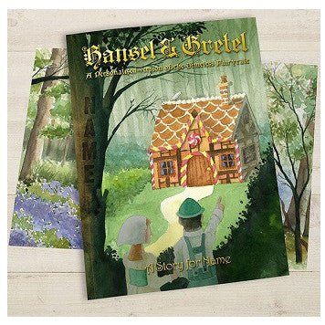 Hansel & Gretel Personalised Fairy Tale Book