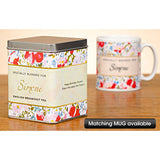Personalised Tea - Floral Design