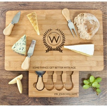 The Importance of Age Large Bamboo Cheese Board