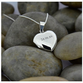 Vintage Special Date Heart Locket
