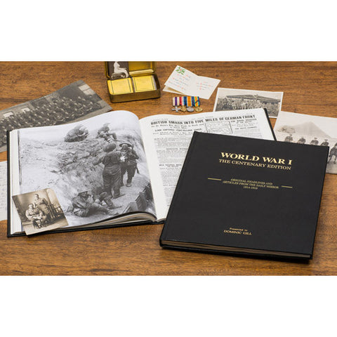 World War I Centenary Edition - Newspaper Book