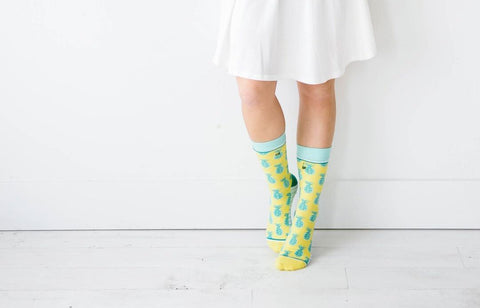Womens Pineapple Whip Socks