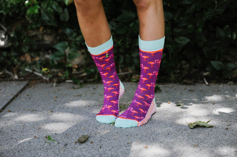 Flirty Flamingo Socks