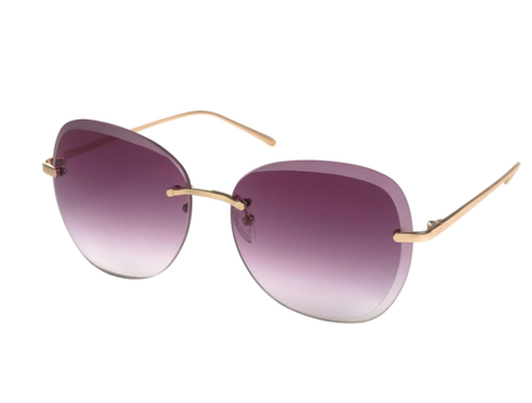 Dolly Sunnies in Gold Plated Brown