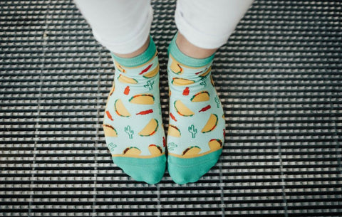 Let's Taco 'Bout It Ankle Socks