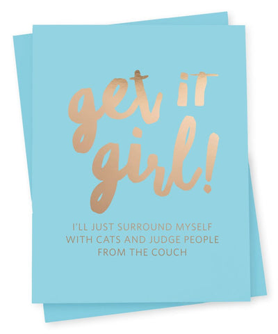 Get It Girl Card