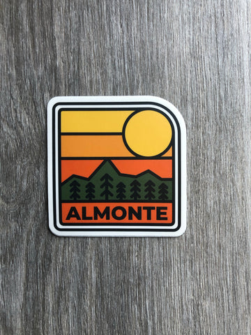 Sun Setting Sticker