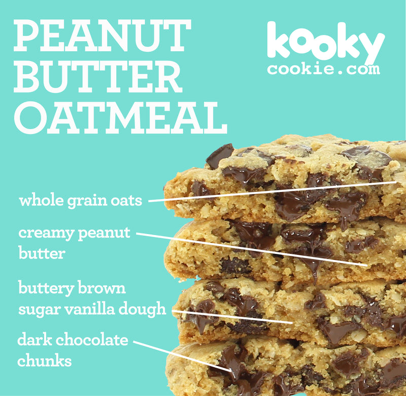 Peanut Butter Oatmeal Chocolate Chunk (2 PCS)