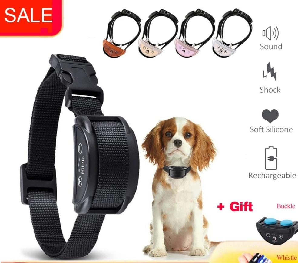 Adjustable Electric Dog bark shock collar