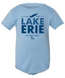 My Great Lake Erie Baby Onesie