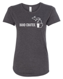 Hand Crafted Women's Scoopneck T