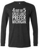 4 Out Of 5 Long Sleeve T-Shirt