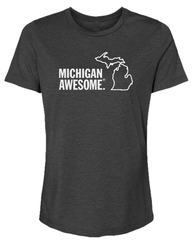 Michigan Awesome Women's Relaxed Fit T