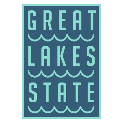 Great Lakes State Vinyl Stickers (Pack of 10)