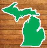 Michigan Die-Cut Stickers (Pack of 10)