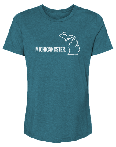 Michigangster Women's Relaxed Fit T