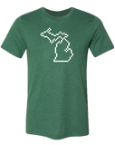 Michigan Pixels Unisex T-Shirt