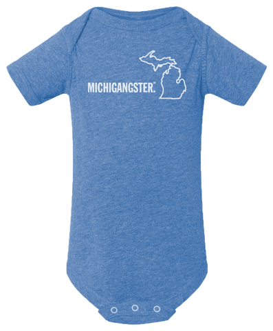 Michigangster Baby Onesie