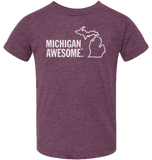 Michigan Awesome Kids T-Shirt