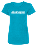 Someone in Michigan Loves Me Women's Scoopneck T
