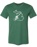 Bike Michigan Unisex T-Shirt