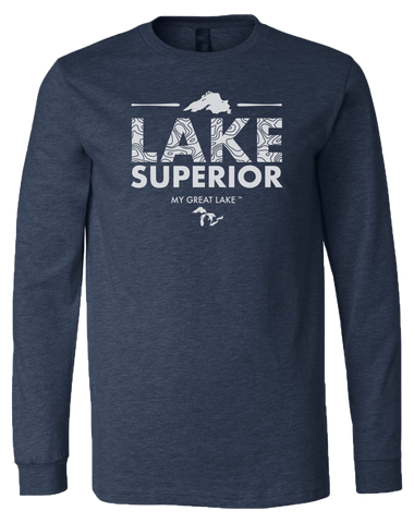 My Great Lake Superior Long Sleeve T-Shirt
