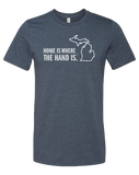 Home is Where the Hand is Unisex T-Shirt