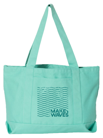 Make Waves Boat Tote