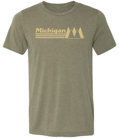 Michigan Trees Unisex T-Shirt