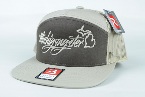 Michigangster 7-panel Trucker Hat