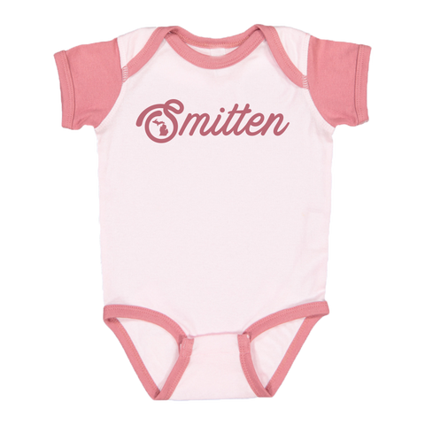 Smitten Color Block Onesie
