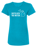 Smitten with the Mitten Women's Scoopneck T