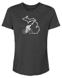 Bike Michigan Women's Relaxed Fit T