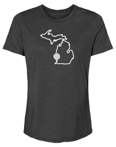 Golf Michigan Women's Relaxed Fit T