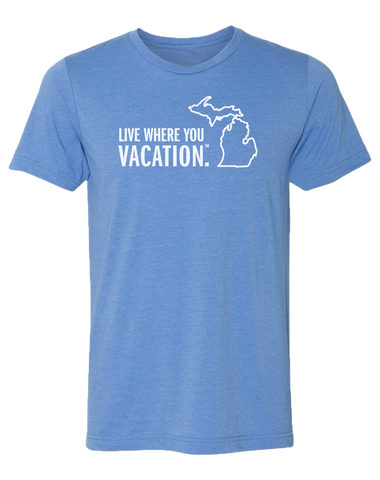 Live Where You Vacation Unisex T-Shirt