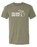 Cold Hand Warm Heart Unisex T-Shirt