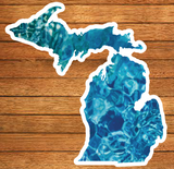 Michigan Patterns Die-Cut Stickers (Pack of 10)